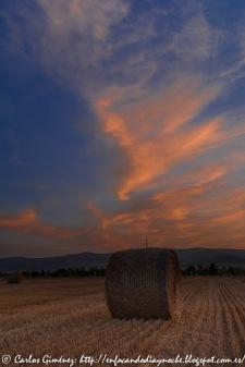 Tierras de Soria: Amanecer en Almarza